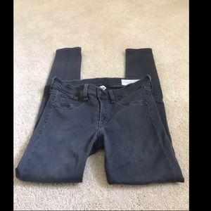 Rag & Bone Grey Legging Jean